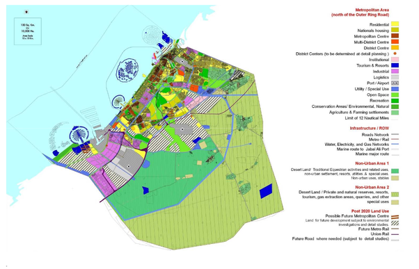 Do dubai land prices justify building heights quora here is a zoning map of area 2 taken from the same document gumiabroncs Gallery