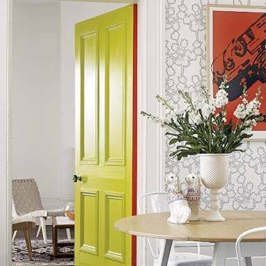 If your interior doors are white, can you use dark trim or does trim ...