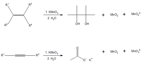 Structural formula for ethylene glycol