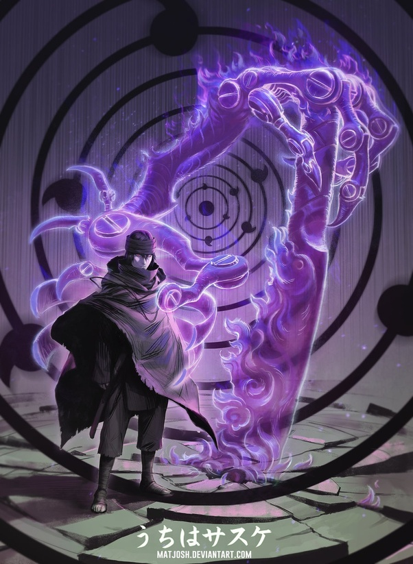 Is Sasuke Able To Use Asura Path For His Arm Or With His