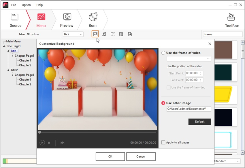 You Can Follow These Steps In Order To Learn How Burn Video Files Dvd R Disc Using Wondershare S Creator