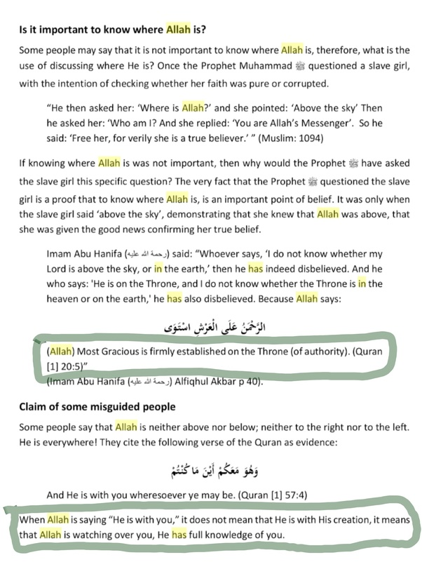 What was the location of allah before he created al arsh quora source master tawheed in 24 hours by suhaib sirajudin altavistaventures Image collections