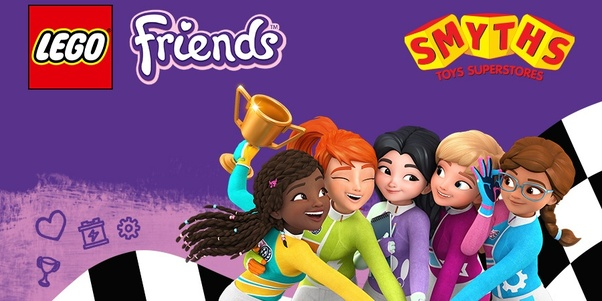 Why Did Lego Change The Look Of The Lego Friends Girls Quora