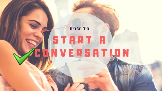 How to start a random conversation
