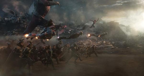 Where does Spider-Man swing from in Avengers: Endgame? - Quora