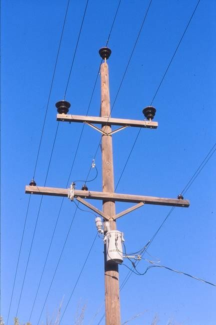 When it rains why doesnt the electric pole or small transformer ...