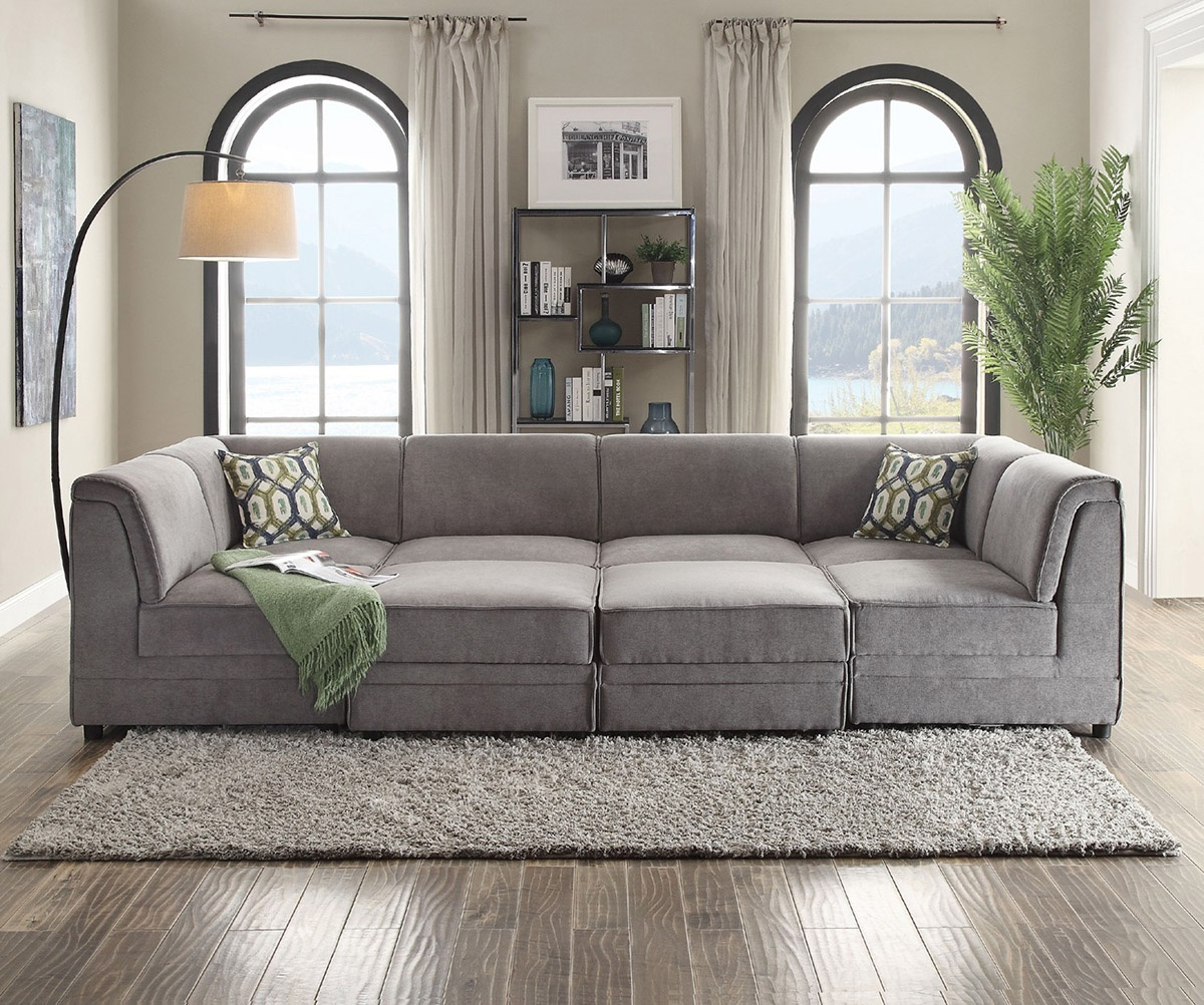 What type of furniture do you prefer for a living room? A