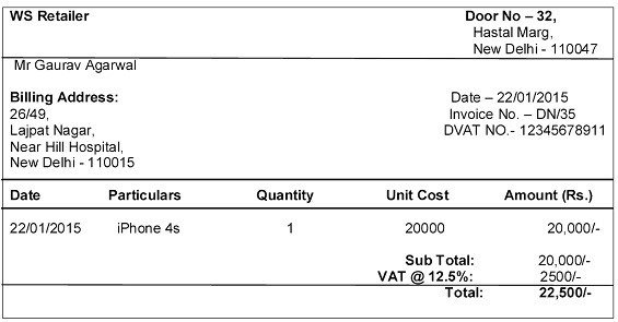Myntra Sent This Invoice Can Anyone Explain How These Calculations - How to make an invoice on iphone