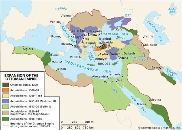 Which empire was larger in size at its peak the roman - What is an ottoman ...