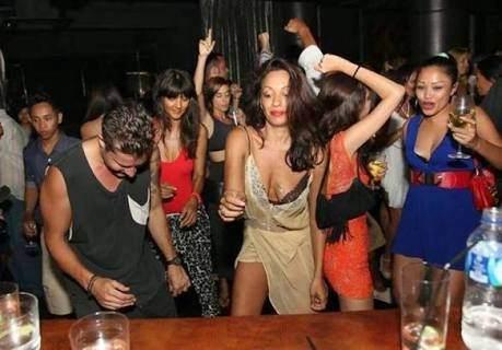 Indonesian bar girls