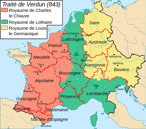 Why Was Louis Such A Popular Name For French Kings Quora - Map of the whole world with names