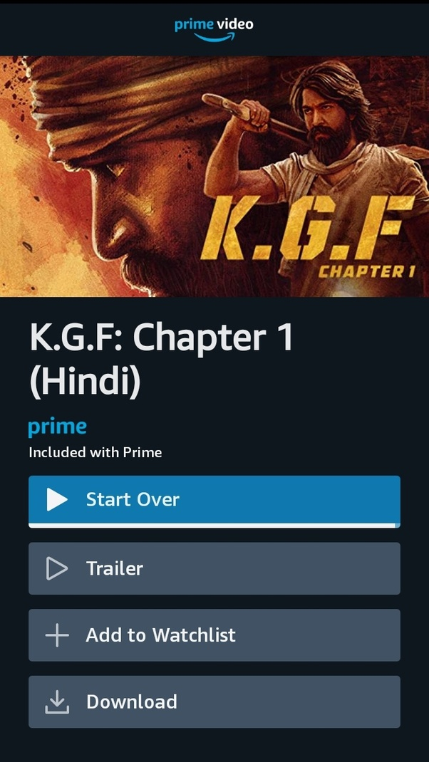 How to watch 'KGF' movie online - Quora