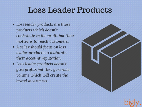 what does loss leader pricing mean what are some examples quora