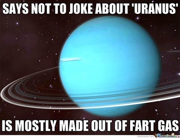 uranus planet named there facts did meme whoever revolution interesting fun pluto capricorn beginning unnus probe center memecdn been memecenter