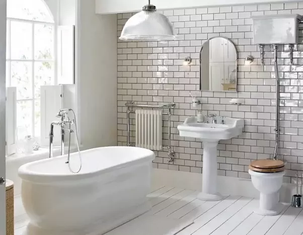 Delicieux Here, Iu0027m Going To Suggest You One Of The Best Ceramic Subway Tile That You  Can Choose For Your Bathroom. And Its Name Is Chateau Series Beaded Liner  From ...