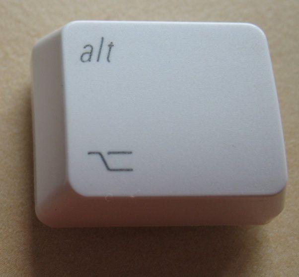 What Is The Origin Of The Macs Option Key Symbol Quora