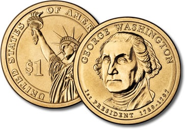 U.S.A, One Dollar, George Washington, 1789 1797, Price and ...