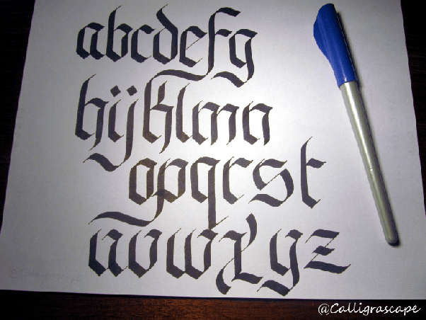 I love calligraphy but i have never actually done it before what