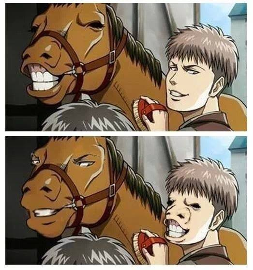 Why Is Jean From SnK (AoT) Often Compared To A Horse?