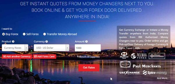 Quels sont les meilleurs fournisseurs d'envois de fonds en Inde?
