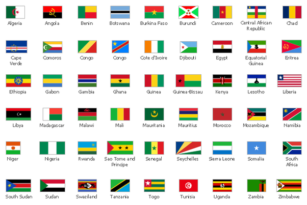 which international flags have the color scheme red yellow and