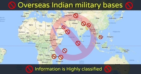 readers are requested to verify from other source as well for details follow this link overseas indian military bases
