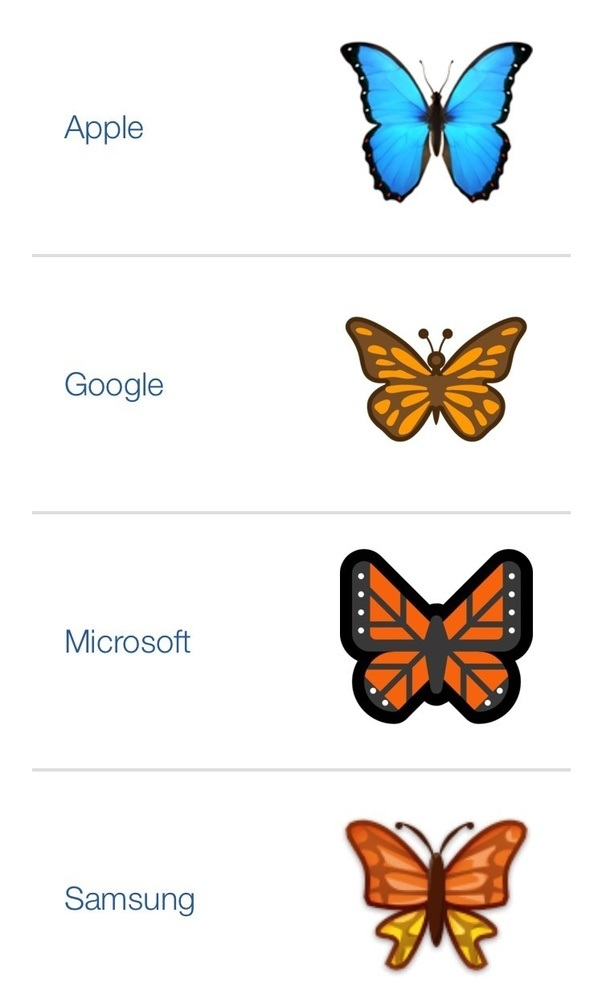 what does the butterfly emoji mean quora