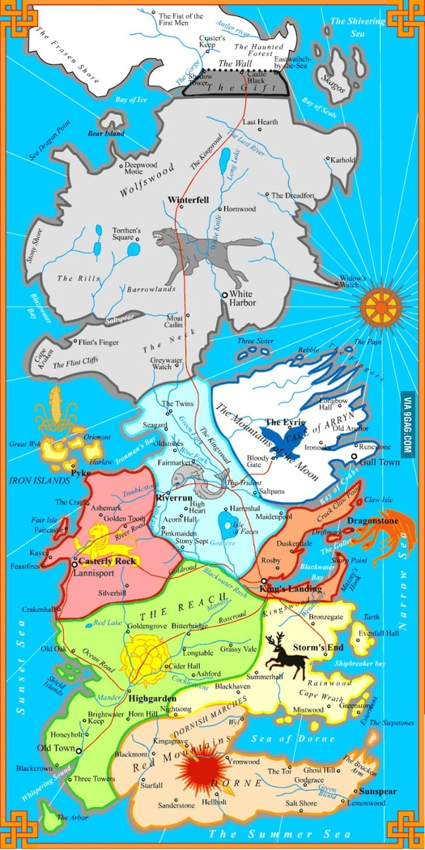 Where can I find a political map of Westeros?   Quora