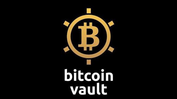 bitcoin vault vs piniginė