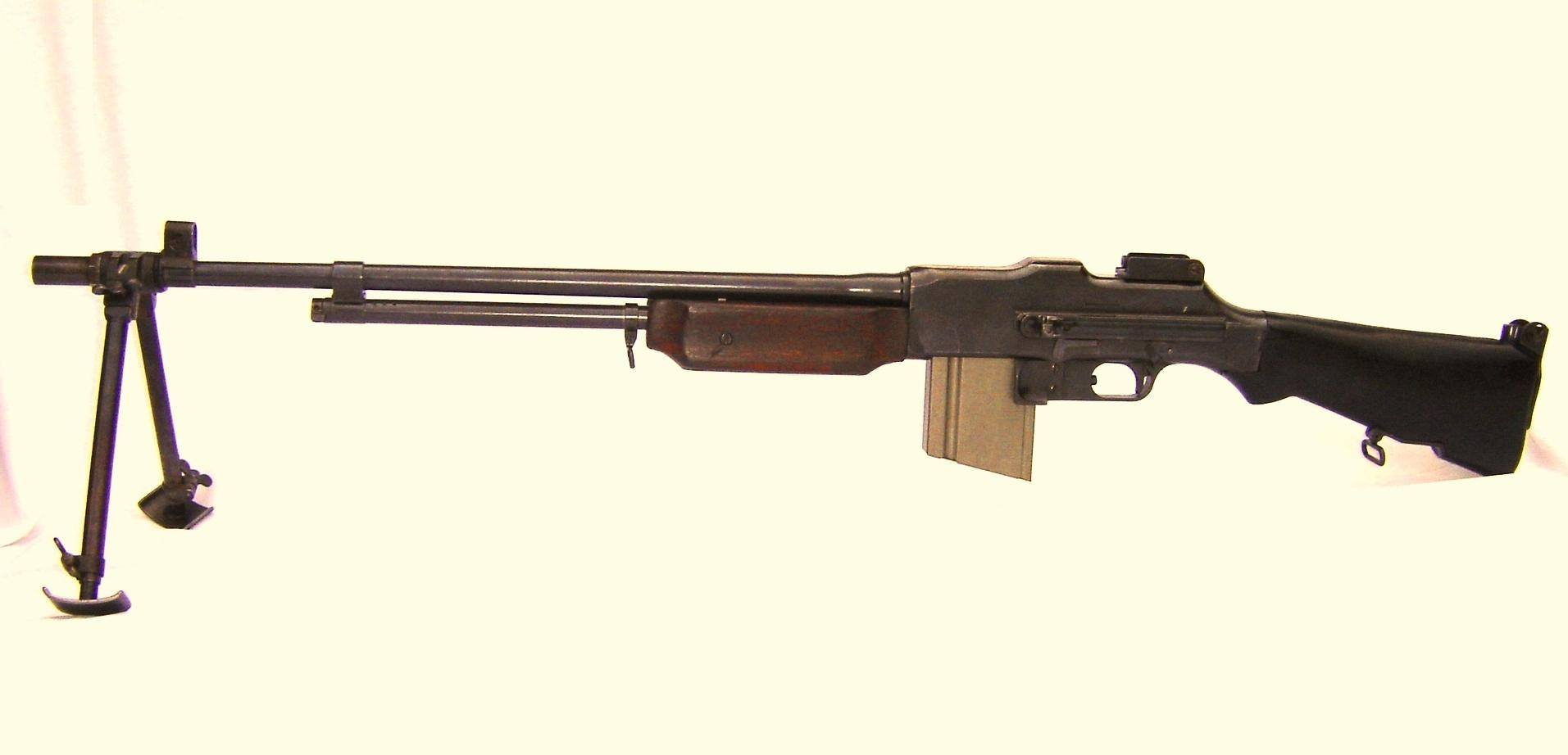 would the browning automatic rifle equipped with 30 round magazine