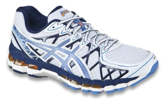 Buy Now-ASICS Men's Gel-Kayano 23 Poseidon, Flame Orange and Blue Jewel  Running Shoes - 5 UK/India (39 EU)(6 US) (T646N.5809)