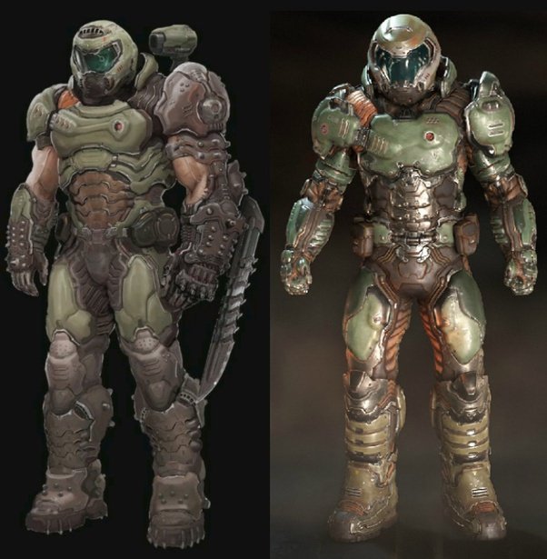 Who Would Win The Doom Slayer With His Upgrades From Doom Eternal