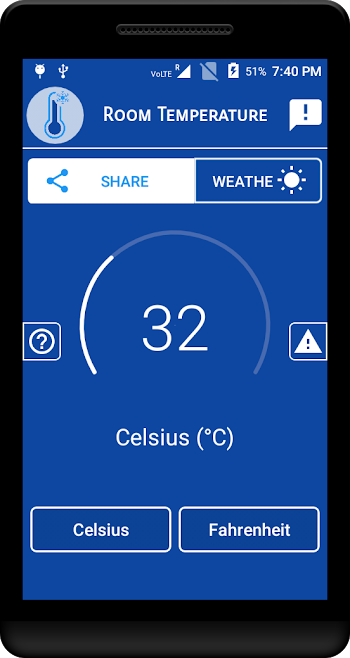 Is There An Android App For Measuring Ambient Temperature