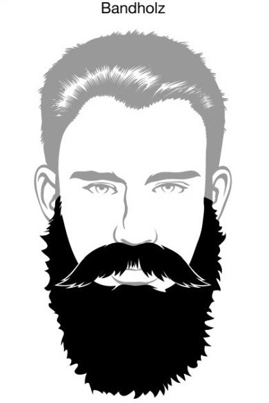 How to make your mustache connect to your beard quora - Moustache dessin ...