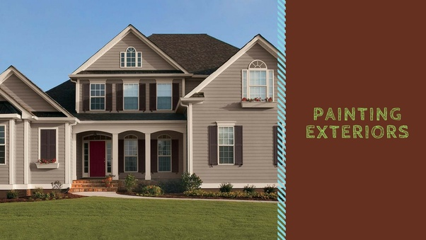 Exterior House Paint Tasks Warrant More Efficacy And Efforts Because This Area Is Open To The Environmental Agents Of Diversity