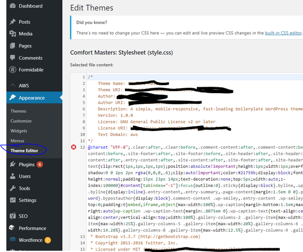 How to access the theme editor on WordPress for free - Quora