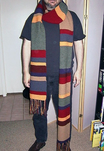 How To Find A Knitting Pattern For Tom Baker The 4th Doctors Scarf