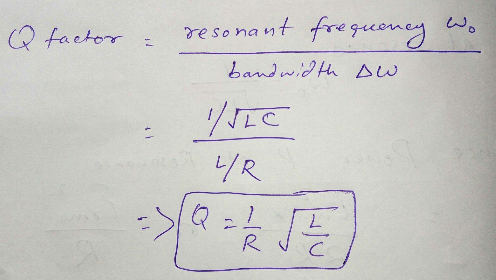 Resonant Lc Circuit Calculator