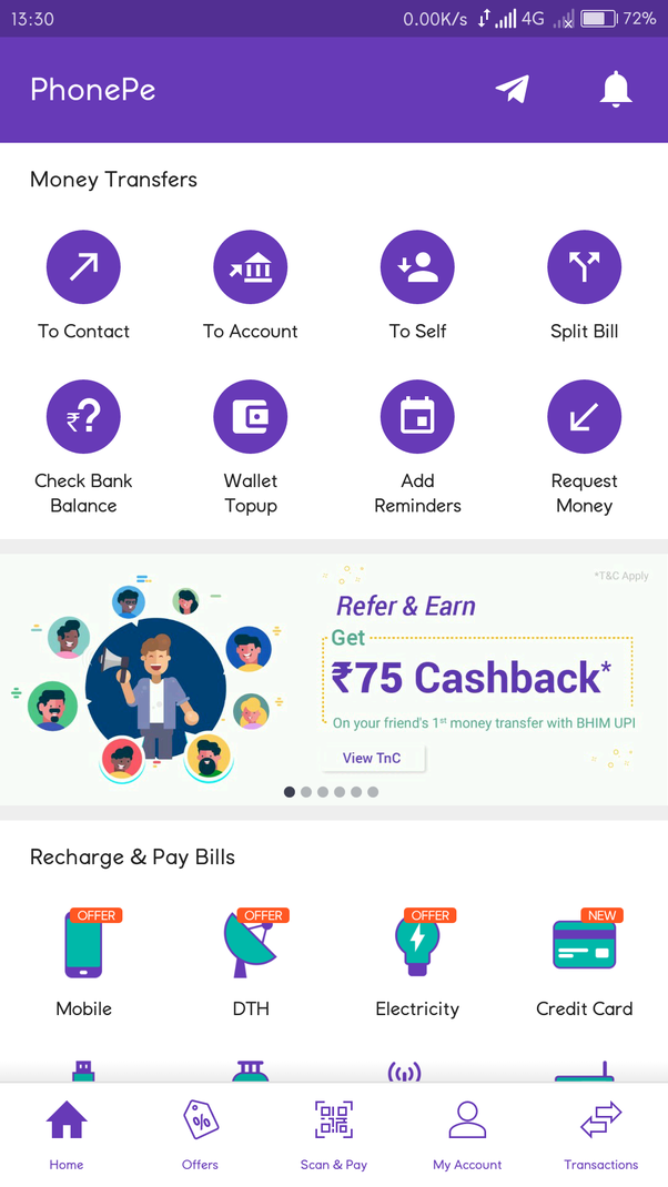 How To Transfer Phonepe Cash Backs Your Bank Account