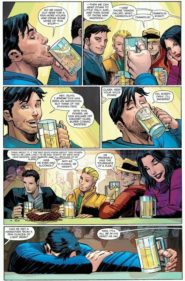 Can Superman Get Drunk From Alcohol Quora