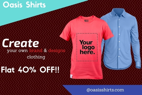 I want to create my own brand of clothes to sell online for Make your own shirt and sell it