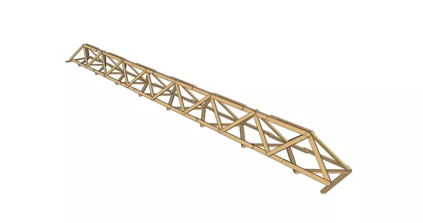 What Is The Lightest Most Efficient Holding Truss Or Bridge Design