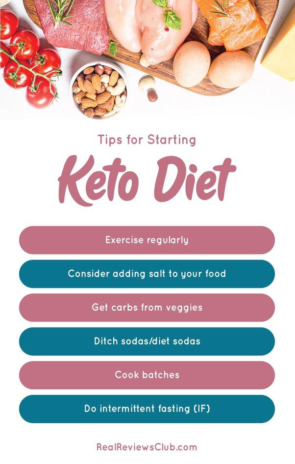 less sweat on keto diet
