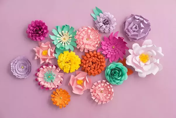 How to make paper flowers without a die cutting easy home additionally these artificial flowers are kids favorite player as well children love to cut paper into good shapes and flowers are one of their most mightylinksfo