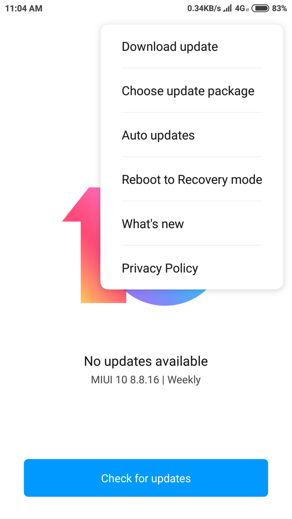 How to update my Redmi Note 5 Pro to MIUI 10 - Quora