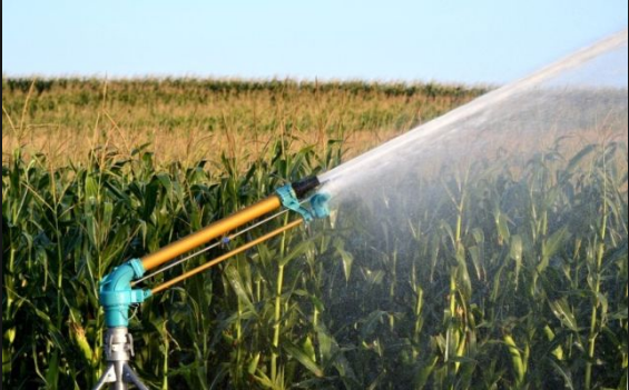 What are the modern methods of irrigation practised in India