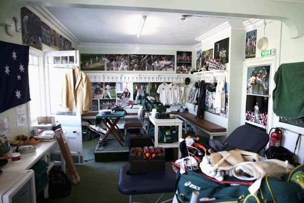 What is the dressing room in cricket? What do the players do there ...