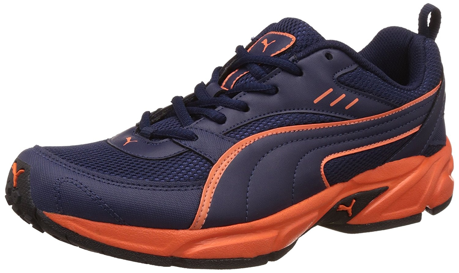 618c4924b34 The shoes are very light weight and with a good grip that helps a runner to  run for a longer duration.