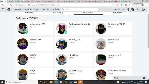 Free Follow Bots For Roblox Why Did I Suddenly Gain A Bunch Of Bot Followers On Roblox I Didn T Do Anything To Make This Happen I Know It Will Make Me Look Bad My Username Is Littengirlpokemon