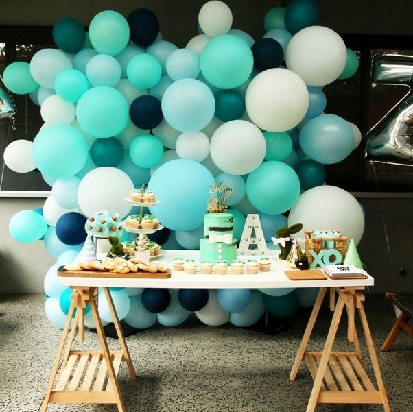 What Are Some Simple Birthday Balloons Decoration Ideas At Home Quora